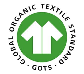Logo label GOTS coton bio
