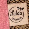 Attache-tétine Cherry Blossom Lila's Essentials coton bio GOTS teinture naturelle